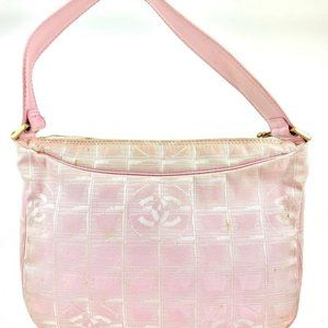 Chanel Pink New Line Mini Hobo 8CC923